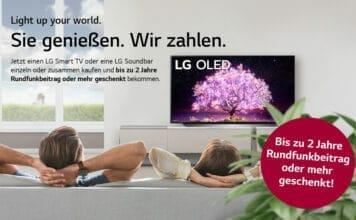 LG lockt mit einer neuen Cashback-Aktion