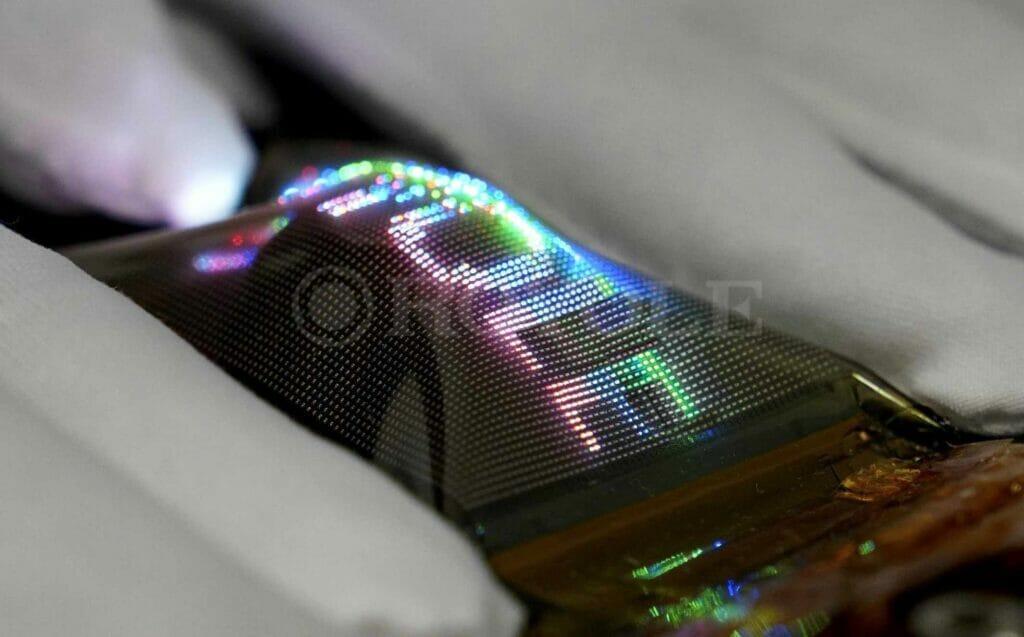 Royole zeigt auf der Display Week bereits seine flexiblen Micro-LED-Displays.