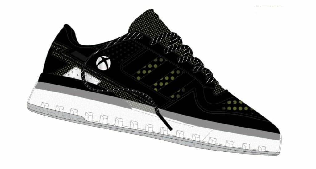So könnte einer der Xbox-Sneaker aussehen.
