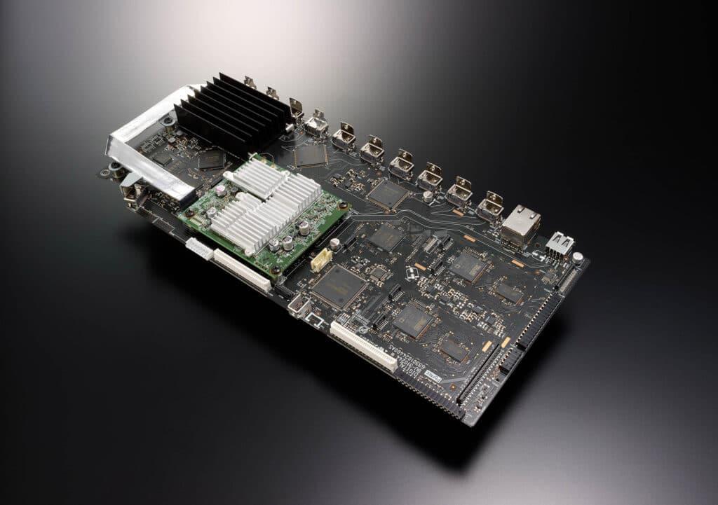 Diese HDMI/Digital-Platine wird im Rahmen des A-Upgrades beim AVC-X8500H getauscht