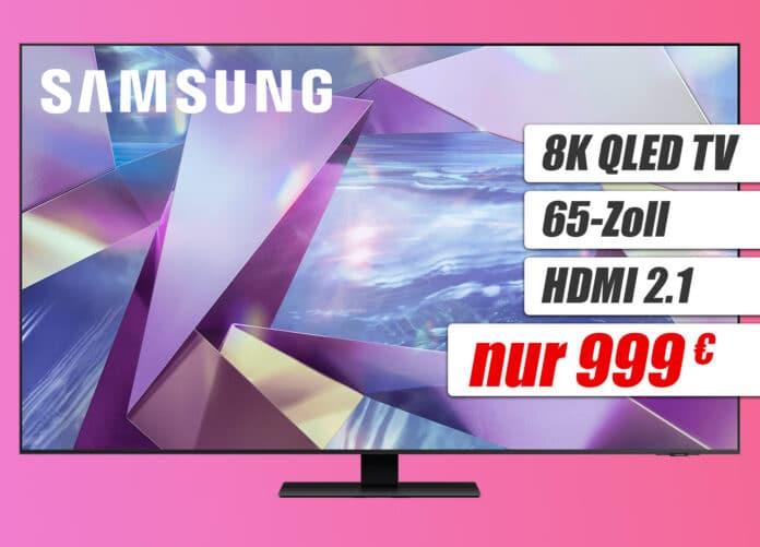Der Samusng 8K QLED TV Q700T mit 65 Zoll für nur 999 Euro