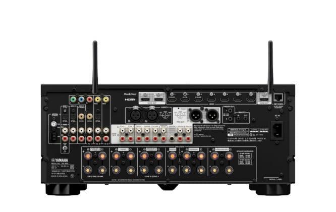 Anschlüsse / Rückseite Yamaha RX-A6A AV-Receiver (inkl. HDMI 2.1)
