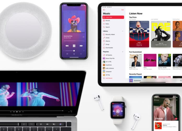 Apple Music Lossless Audio und Dolby Atmos