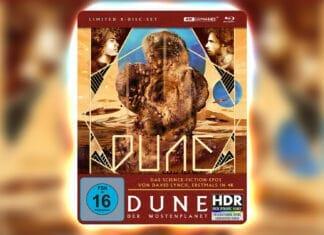 """Sichert euch das limitierte 4K Blu-ray Steelbook von """"Dune - Der Wüstenplanet"""""""