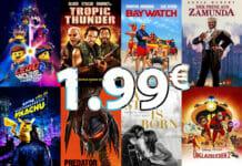 Leihen statt kaufen. Für nur 1.99 Euro hochwertige 4K-Filme in iTunes ausleihen