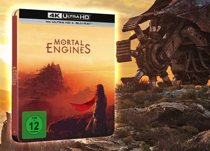 Mortal Engines erscheint als limitiertes 4K Blu-ray Steelbook