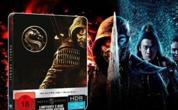 Mortal Kombat 2021 4K Blu-ray Steelbook mit Dolby Atmos & Dolby Vision