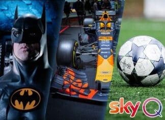 Sky Q Neuheiten in 4K Ultra HD und HDR inkl. Filme, Formel 1 und Fußball