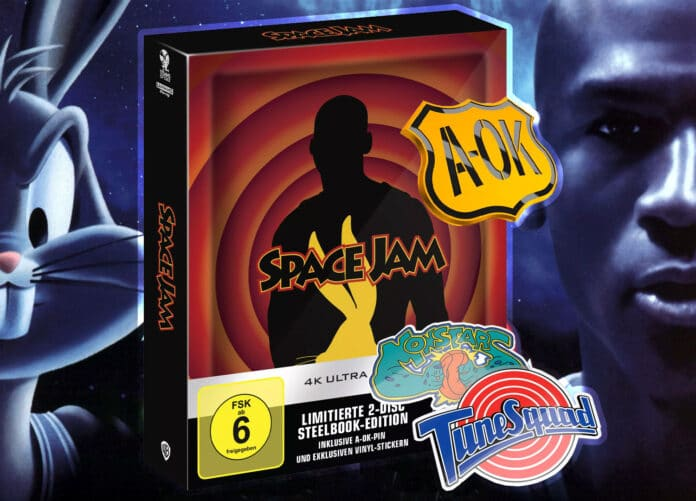 Space Jam (1996) erscheint als limitiertes 4K Blu-ray Steelbook!