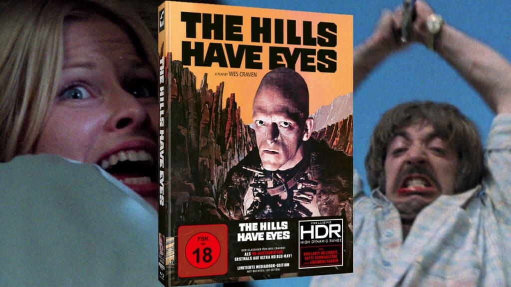 "Die ""The Hills Have Eyes"" 4K Blu-ray inkl. HDR und DTS-HD MA 5.1 Surround-Sound"