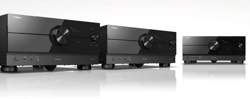 Yamaha Aventage AV-Receiver RX-A8A, RXA6A und RX-A4A