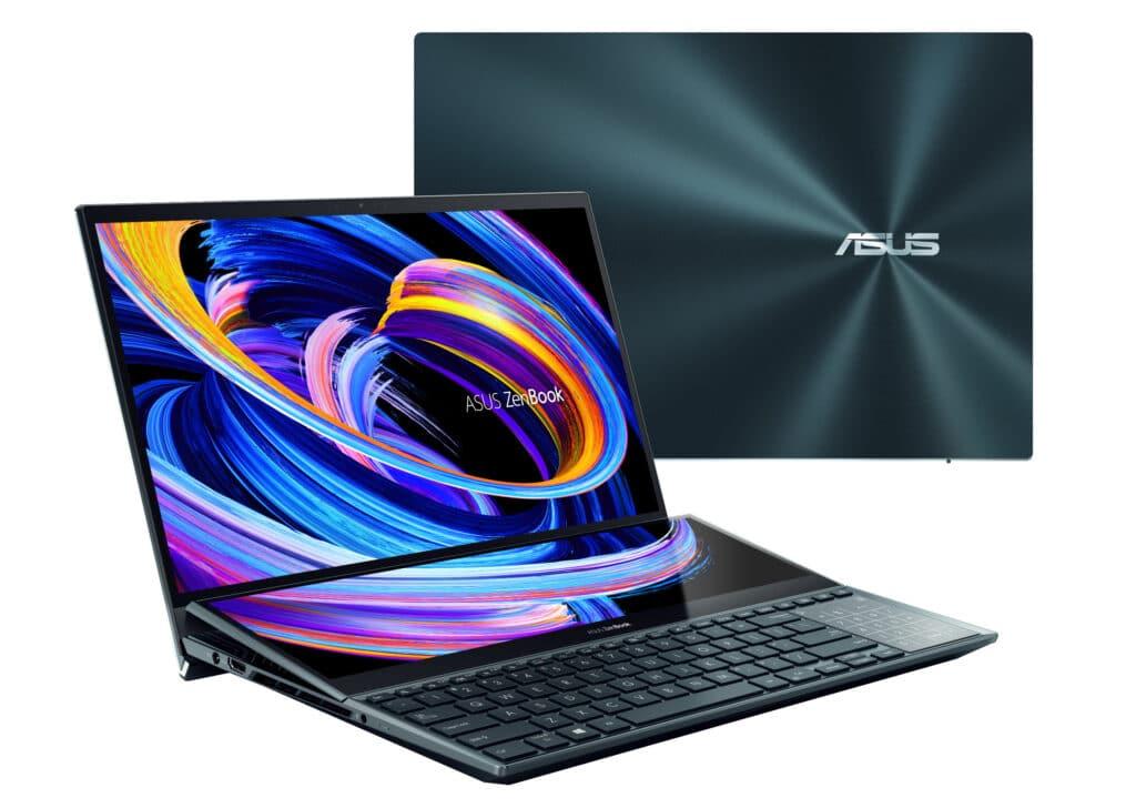 Asus neues Zenbook mit zwei 4K-Display hat einen stolzen Preis.