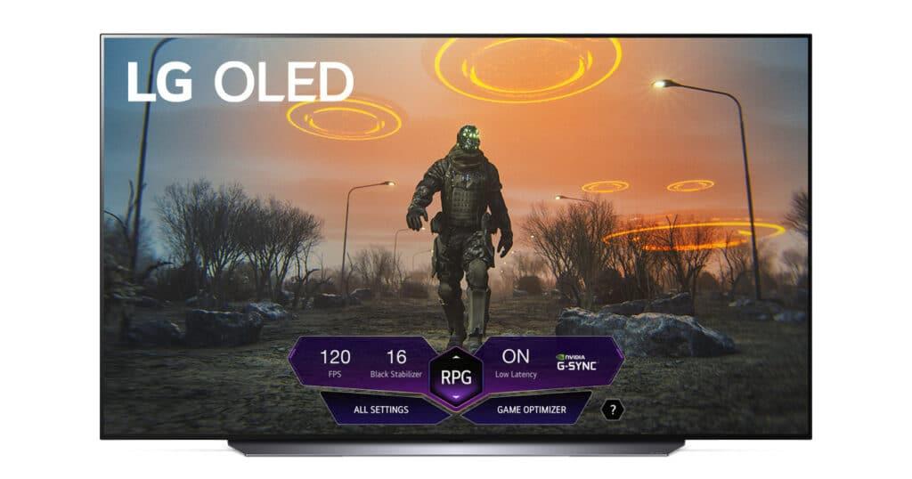 Das LG Game Dashboard erlaubt es rasch TV-Einstellungen beim Spielen anzupassen.