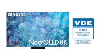Die Samsung Neo QLED sichern sich eine Zertifizierung des VDE