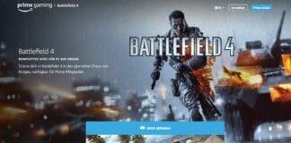 Kostenlos zocken: Sichert euch einen Code für Battlefield 4 - Standard Edition (PC) via Prime Gaming