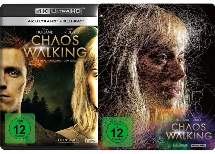 Chaos Walking erscheint auf 4K Blu-ray als Amaray und Steelbook