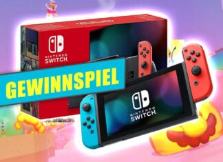 Gewinne mit etwas Glück eine Nintendo Switch Konsole!
