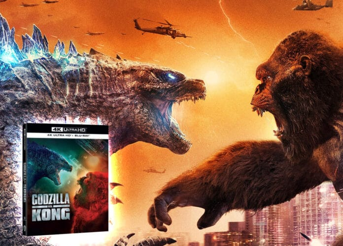 Godzilla vs. Kong auf 4K Blu-ray: Hochwertiges Hollywood-Heimkinoerlebnis