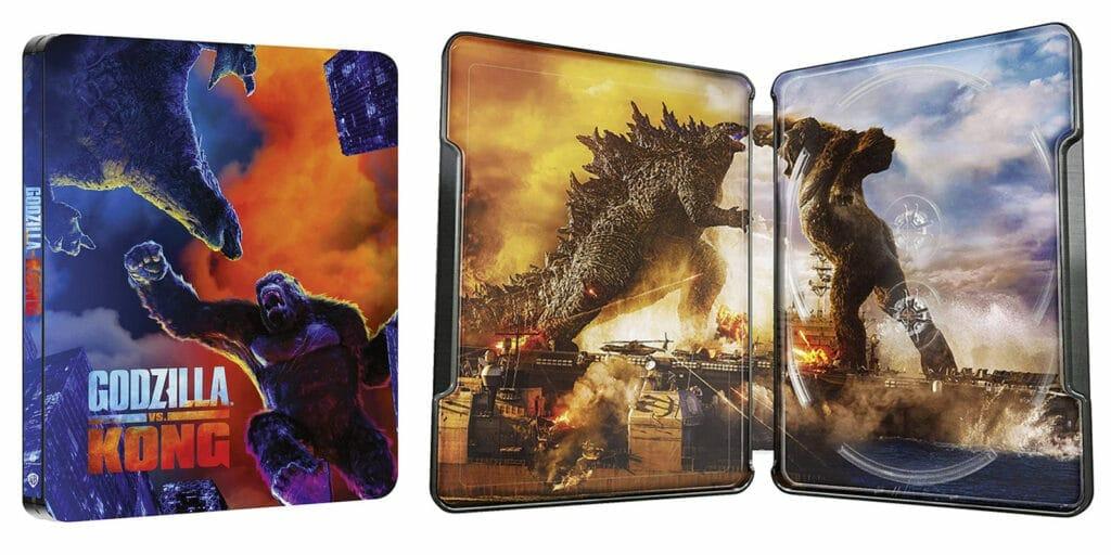 Godzilla vs. Kong wird in anderen Ländern bereits als limitiertes 4K Blu-ray Steelbook angeboten