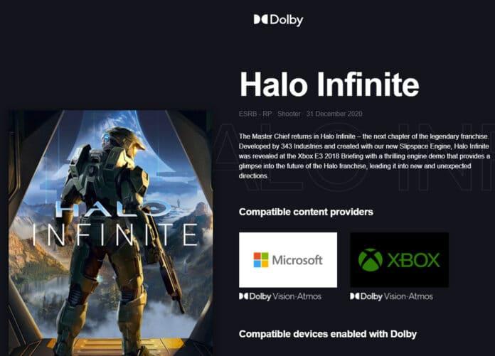 Halo Infinite läuft mit Dolby Vision und Dolby Atmos auf PC & Xbox Series X S