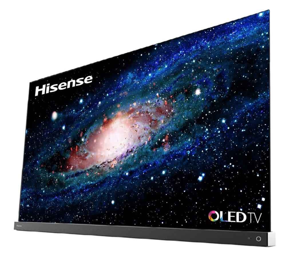 Der Hisense A9G 4K OLED TV mit HDMI 2.1 und Soundbase