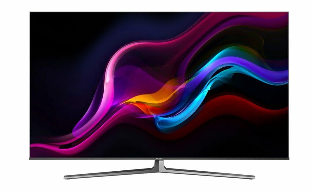 In der Ausstattung und Aufmachung eher etwas Basic: Der Hisense U8G 4K QLED TV mit HDMI 2.1