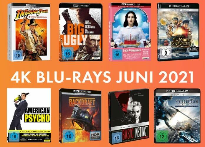 Die Film-Neuheiten auf 4K Blu-ray im Juni 2021