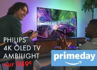 Philips 4K OLED TV mit Ambilight unter 1.000 Euro