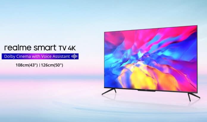realme hat günstige 4K-TVs mit Dolby Vision vorgestellt.
