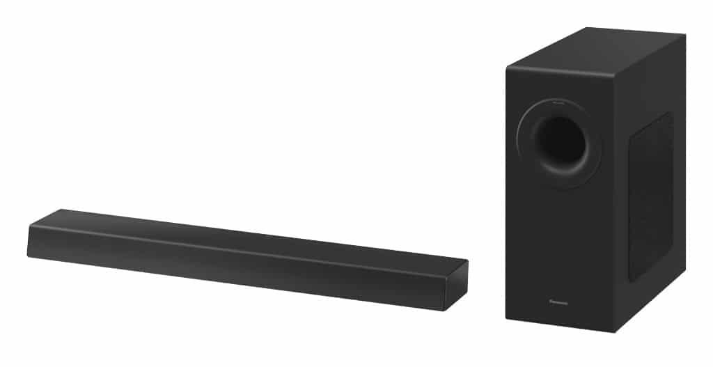 Durch ihre schlanke Bauweise sollte die Soundbar unter die meisten TV-Geräte ab 55 Zoll passen