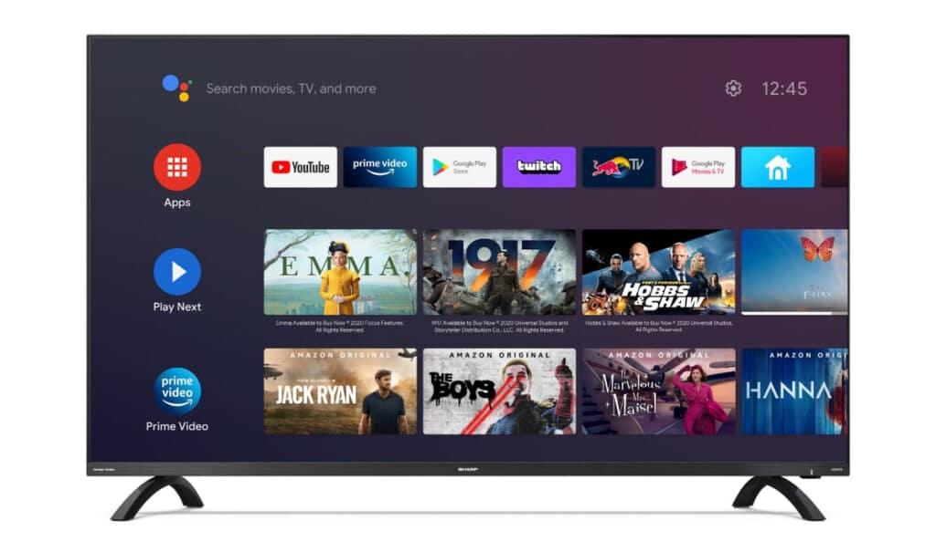 Der Sharp DL3 4K Android TV hat etwas weniger Ausstattung, ist dafür jedoch günstiger
