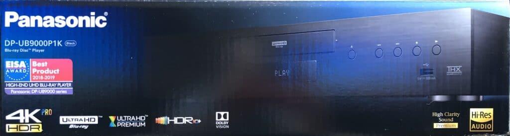 Die Verpackung des UB9000P1K spendiert von Robert Zohn