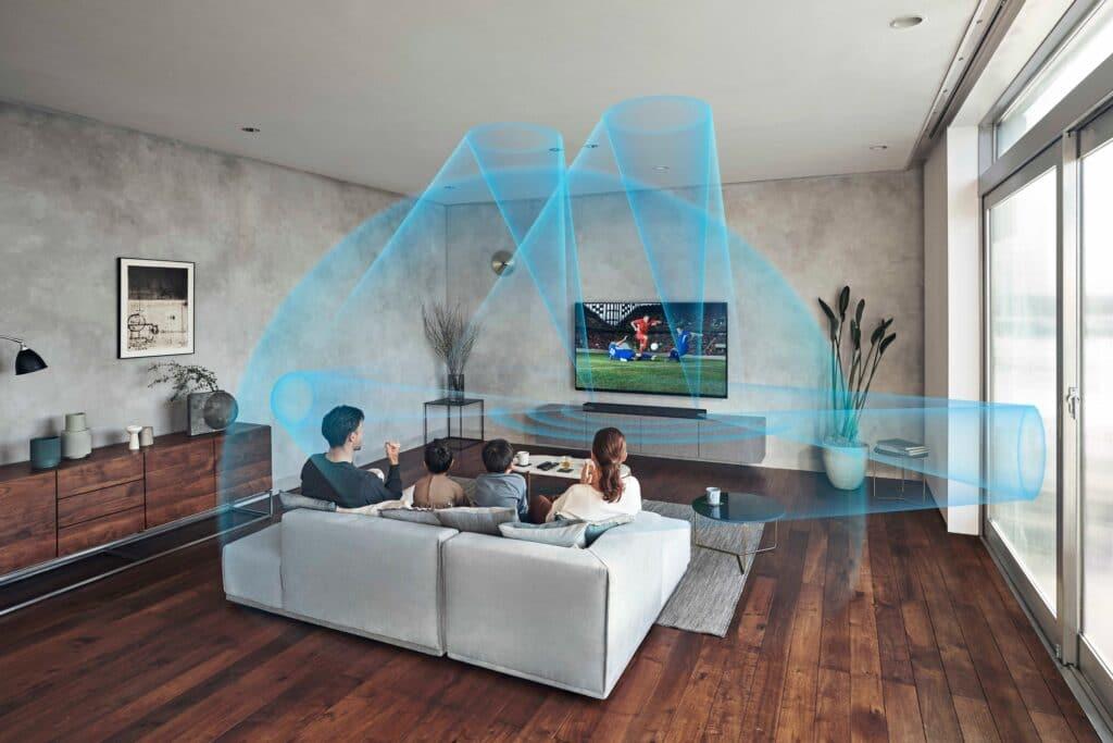 Die neue Premium-Soundbar von Sony bietet überzeugenden 3D-Sound für Film, Fernsehn und Musik