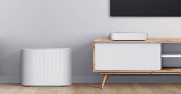 Die LG Eclair ist eine extrem kompakte Soundbar.