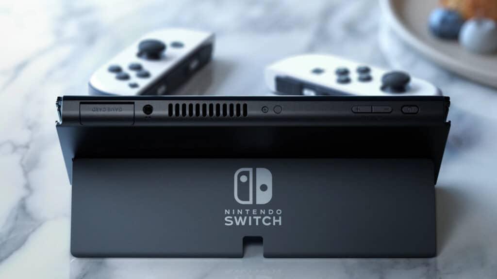 Die Nintendo Switch (OLED-Modell) verdoppelt auch den Speicherplatz.