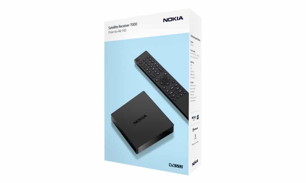 Im Handel kostet der Nokia Satellite Receiver 7000 nur 39,90 Euro.