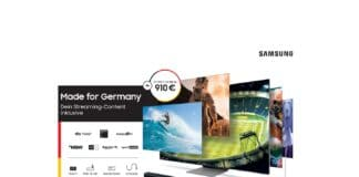"""Samsung verlängert seine Aktion """"Made for Germany"""""""