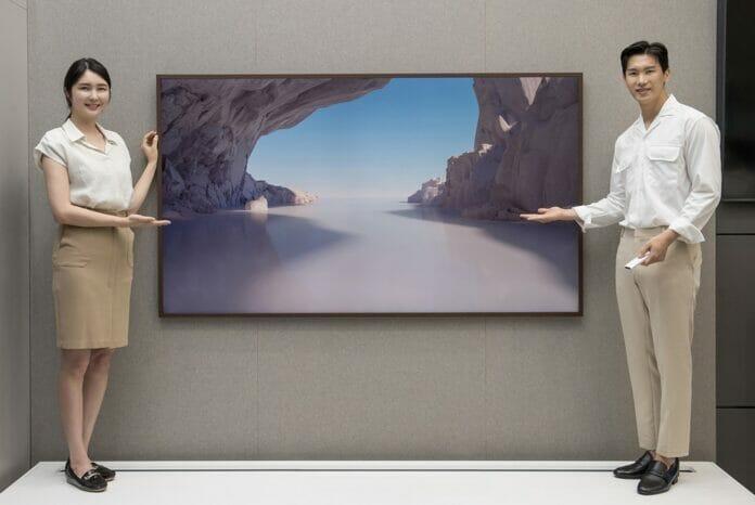 Samsungs The Frame erscheint auch mit 85 Zoll Diagonale.