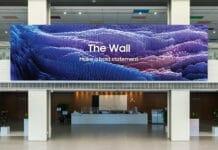 Samsungs veröffentlicht The Wall in der nächsten Generation