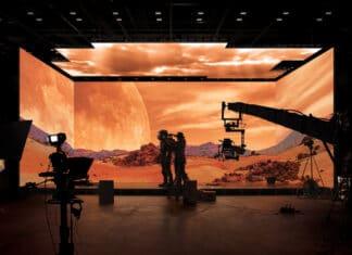 Samsung liefert The Wall nun auch an Filmstudios.