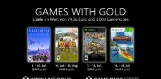 Xbox Games with Gold hat im Juli 2021 neue Titel im Angebot