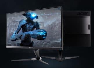 Offizielle Abbildung des Acer Predator XB323K 4K Monitor mit HDR600 und 144Hz