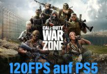 Call of Duty: Warzone lässt sich jetzt in 4K mit 120Hz auf der PlayStation 5 zocken
