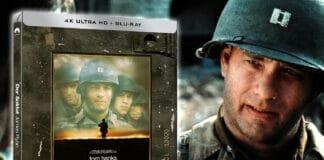 """Jetzt noch eines der beliebten """"Der Soldat James Ryan"""" 4K Blu-ray Steelbooks sichern!"""