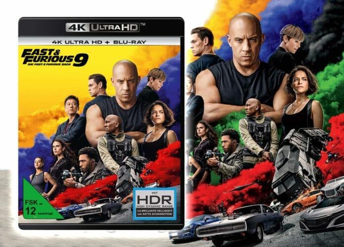 Fast & Furious 9 vorbestellen 4K Blu-ray