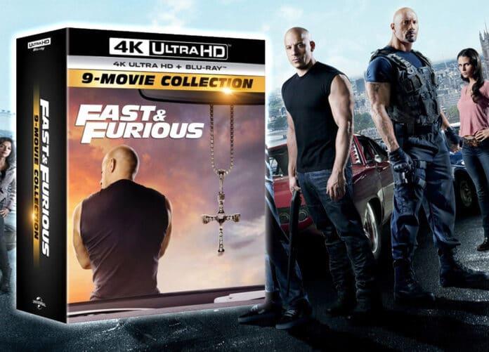 Fast & Furuious 9-Movie-Collection 4K UHD Blu-ray vorbestellen