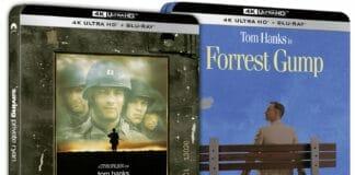 Die Cover von Forrest Gump und Der Soldat James Ryan könnten an den UK-Steelbooks angelehnt sein.