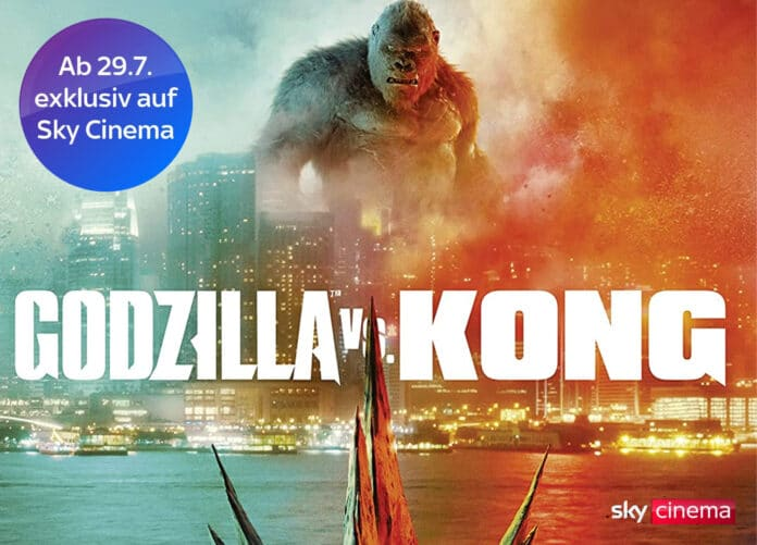 Godzilla vs. Kong in 4K Ultra HD und Dolby Atmos auf Sky Q & Sky Ticket
