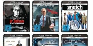 Amazon reduziert einige 4K Blu-rays von Sony Pictures