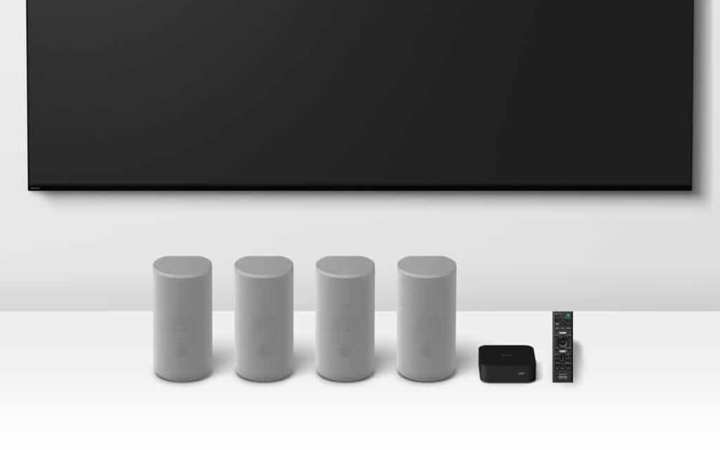 """Lieferumfang der HT-A9 """"Soundbar"""" von Sony"""